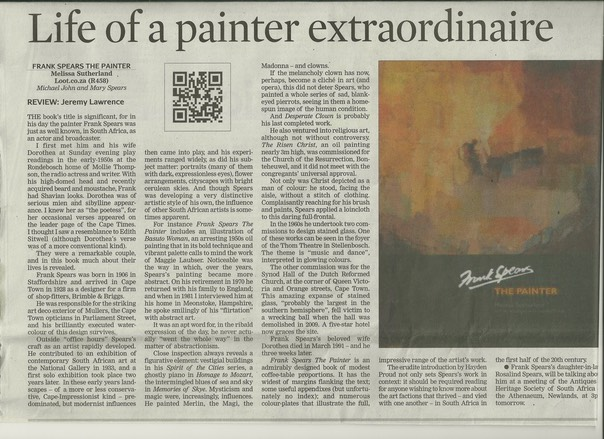 REVIEW  Cape Times 1
